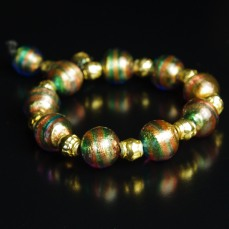 Bracelet with Murano beads