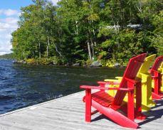 Muskoka chairs - Canada