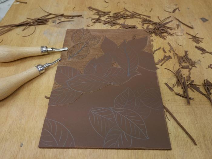 Linoleum - carving