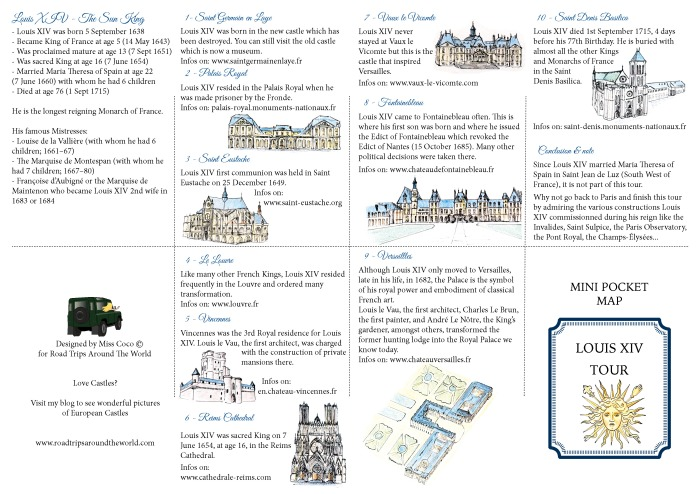 Louis XIV Tour around Paris - A Mini Guide designed by Miss Coco - beautifulthings-photography.com