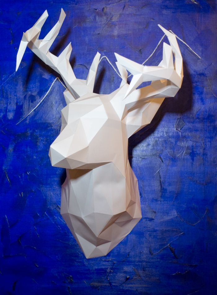 Paper Deer Head by Miss Coco