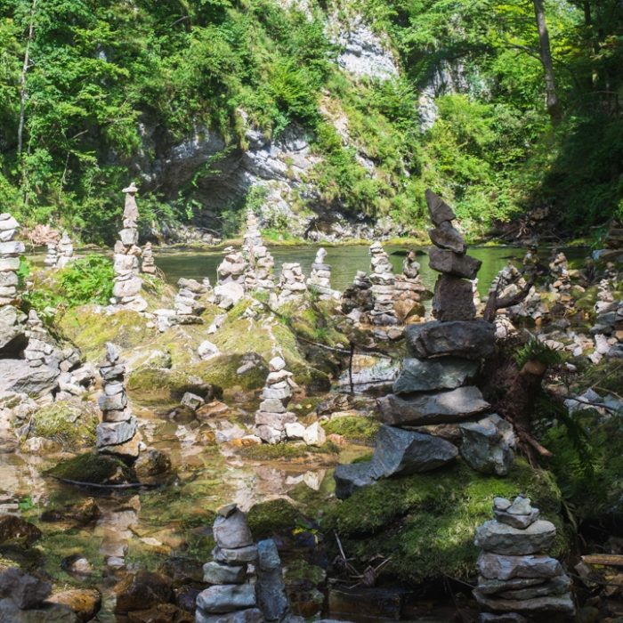 Cairn in Slovenia - photography by Miss Coco