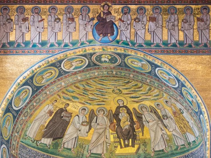 Euphrasian Basilica in Porec, Croatia - photography by Miss Coco