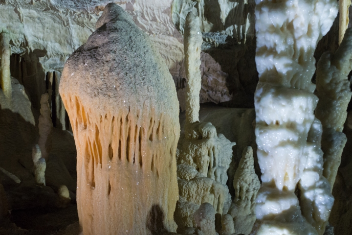 stalagmite - photography by Miss Coco
