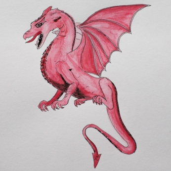 a-dragon-by-miss-coco-original-drawing