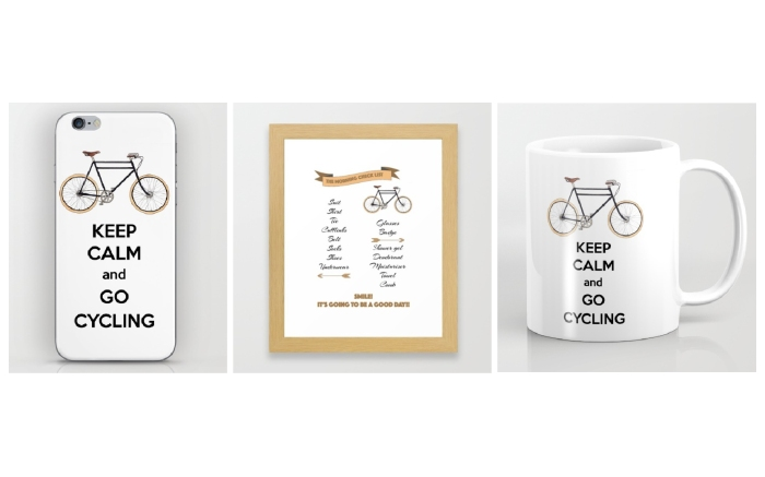 Go Cycling goodies - designed by Miss Coco