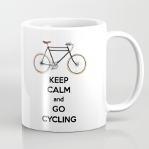 Keep Calm and Go Cycling - Mug designed by Miss Coco
