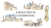 Castles Luxembourg - Free map on www.RoadTripsaroundtheWorld.com