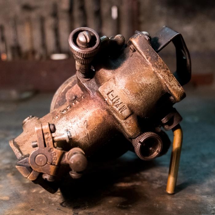 Indian Scout 741 Carburetor before rebuilt - part 2 - www.RoadTripsaroundtheWorld.com