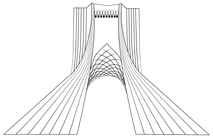 Azadi tower - Tehran, Iran