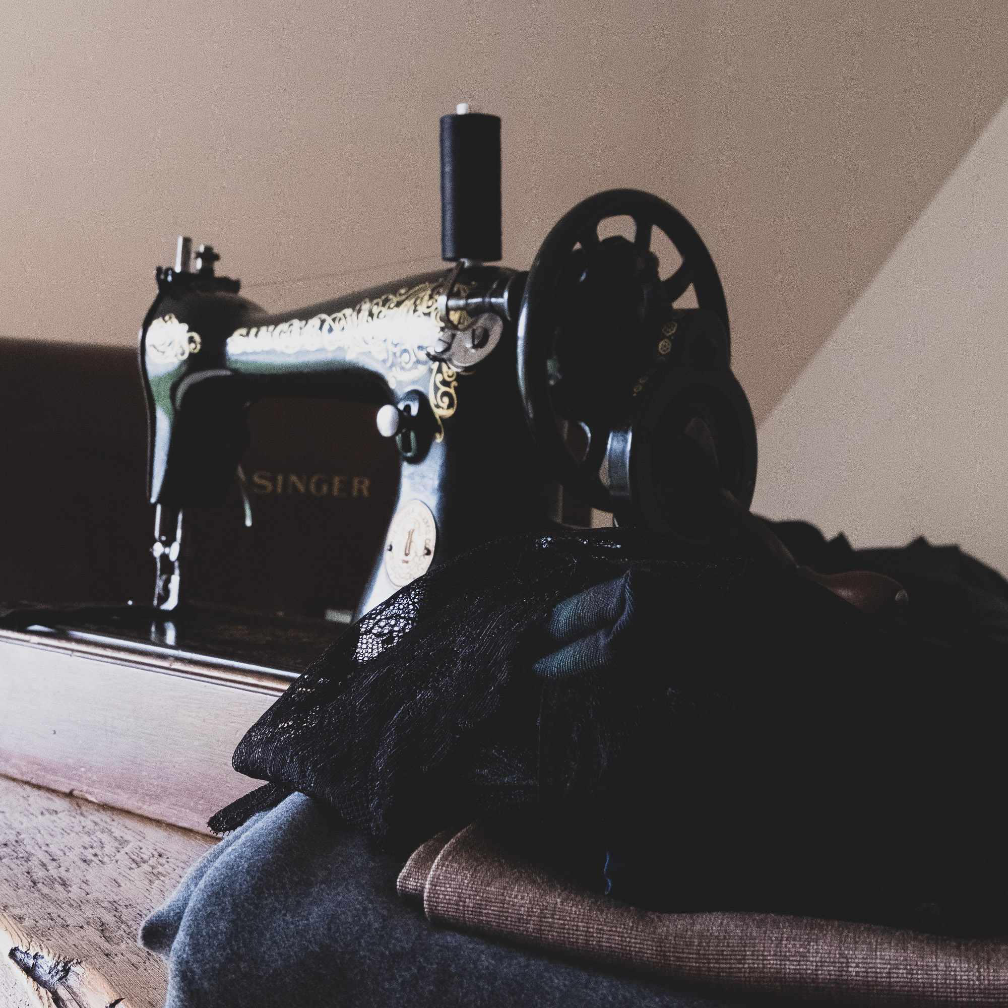 Vintage sewing machine - Singer 15K from 1923
