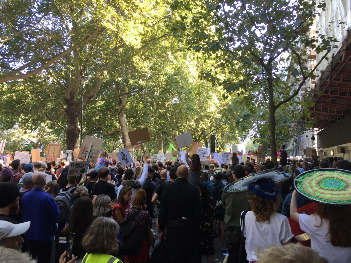Climate strike - London Sept 2019