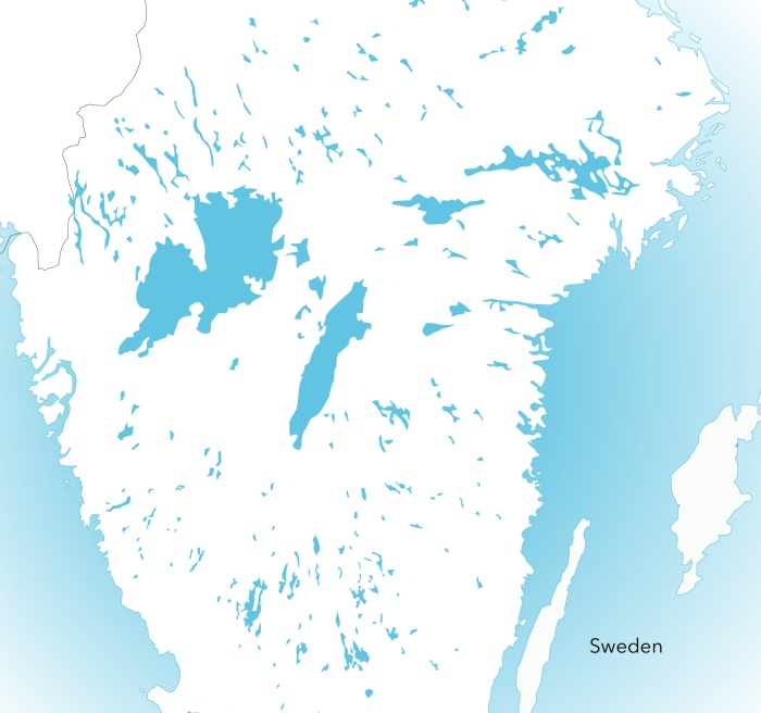 Lakes in Sweden