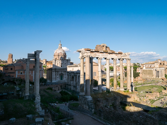 The Saturn Temple - Rome, Italy