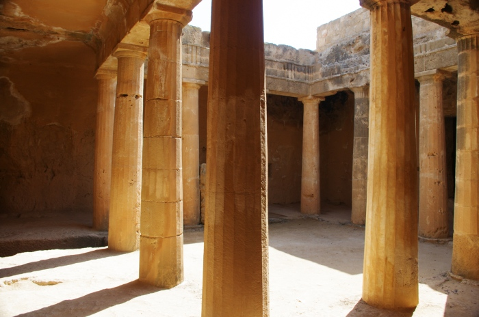 The Tombs of the Kings - Cyprus