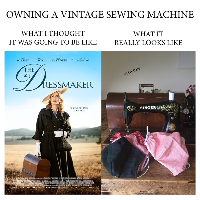 What it's realy like to own a vintage sewing machine
