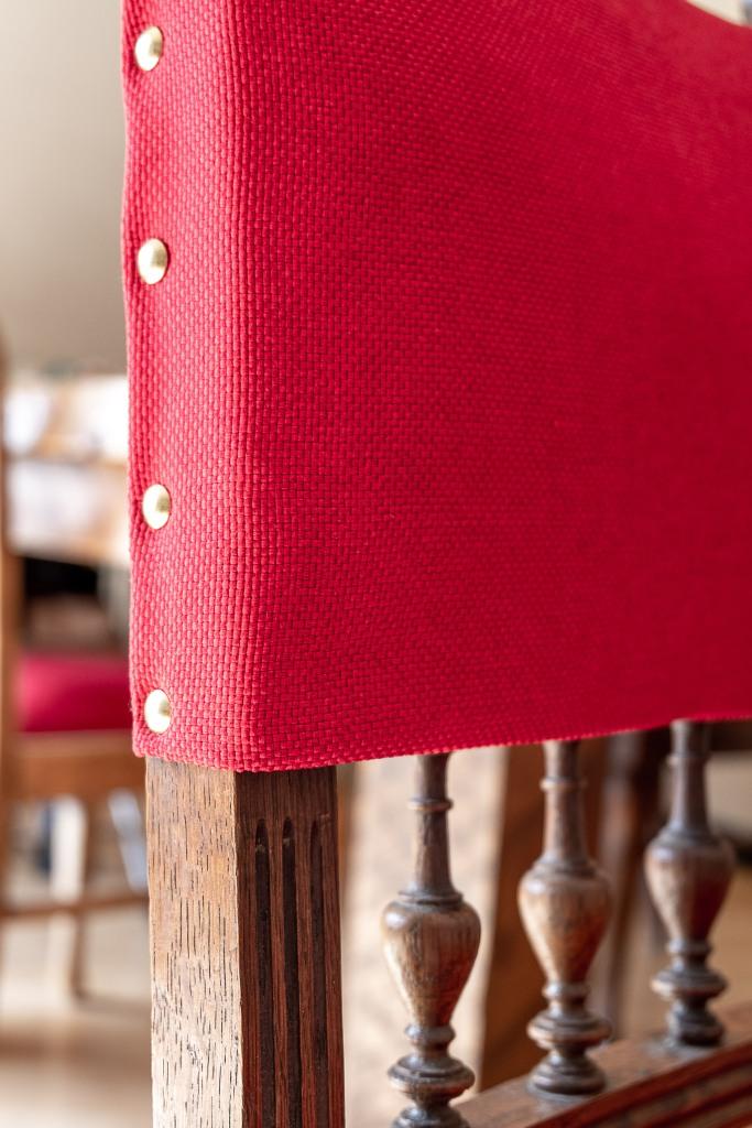 Upcycling Henri II chairs