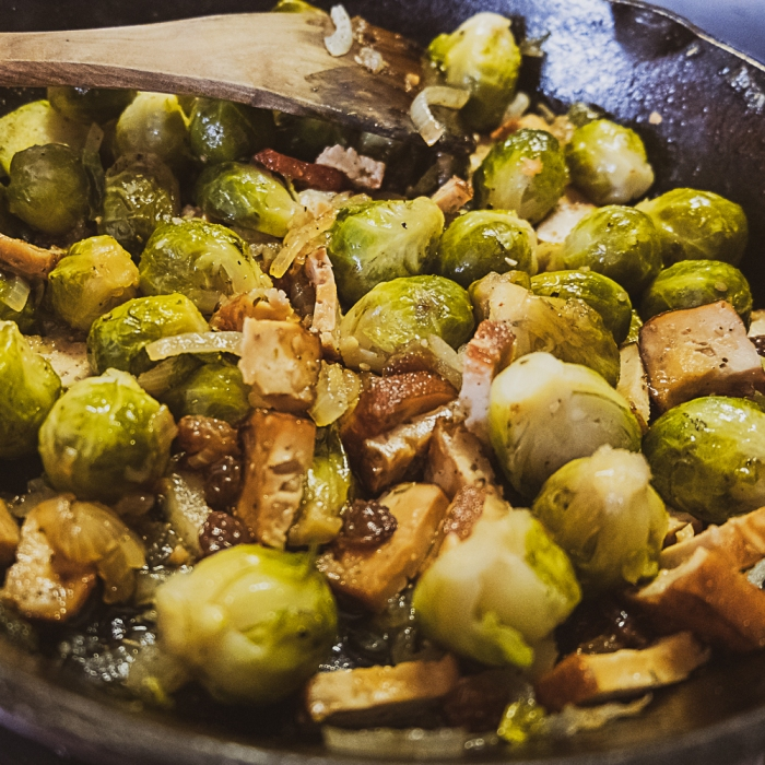 Caramelized Brussels Sprouts recipe