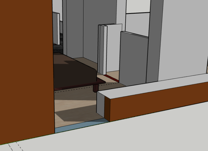Using SketchUp - Color code