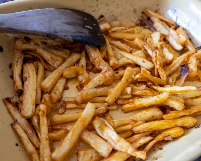 Parsnip fries