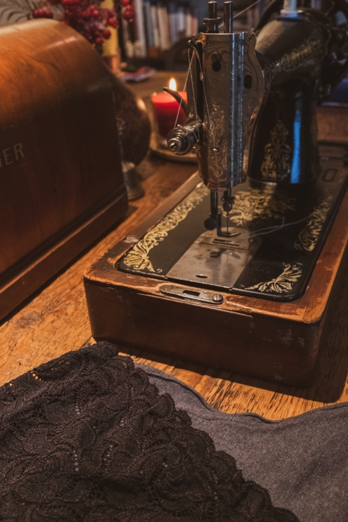 Sewing granny panty