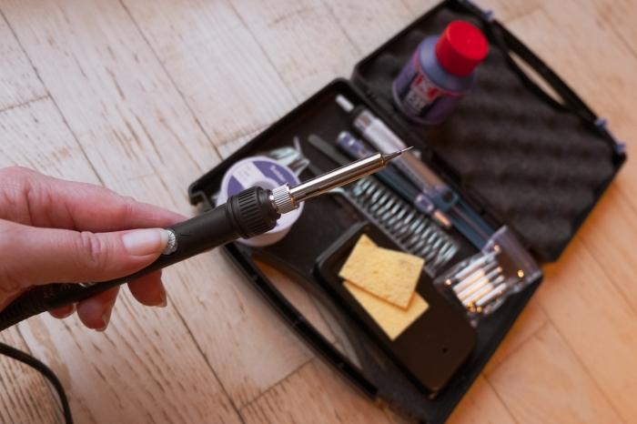 My glorious soldering iron