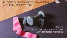Put your own oxygen mask first