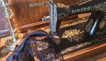 Sustainably Sewing Journey - Singer 15K sewing machine