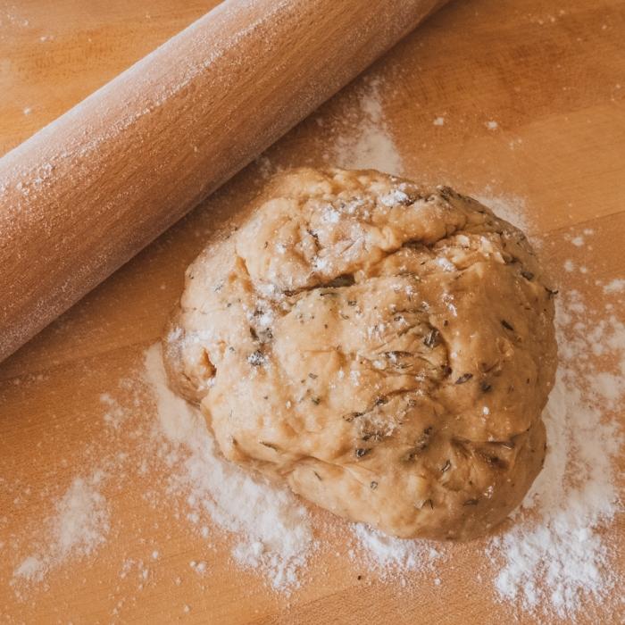 Vegan Onion Pie dough