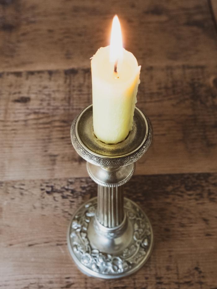 Vintage candlestick - French Restoration style - est 1920-1930