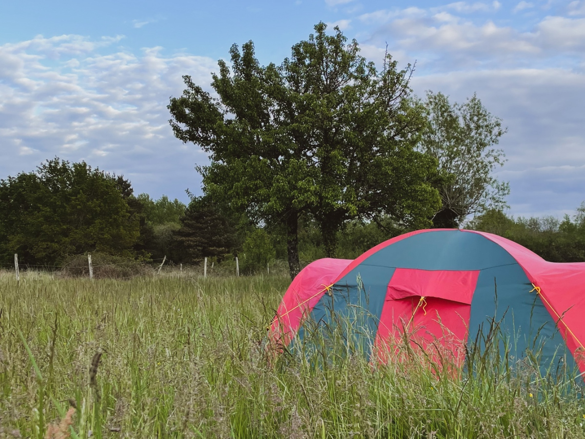 Wild camping in May