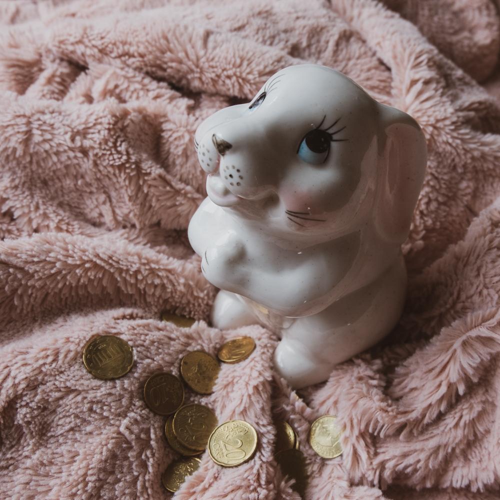 The cutest piggy bank