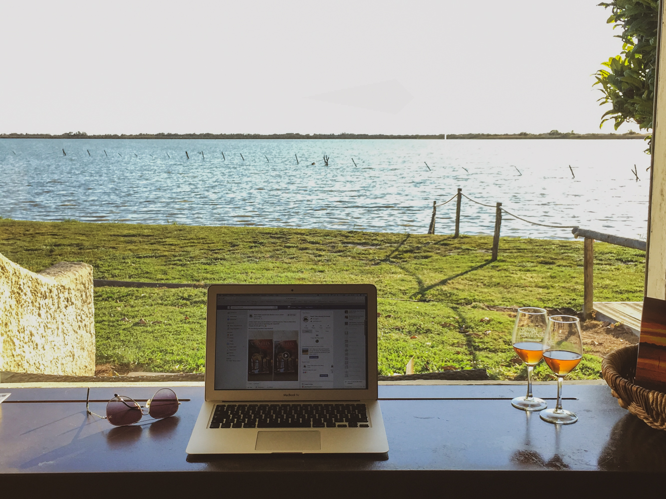 A lot less of remote working and chilling