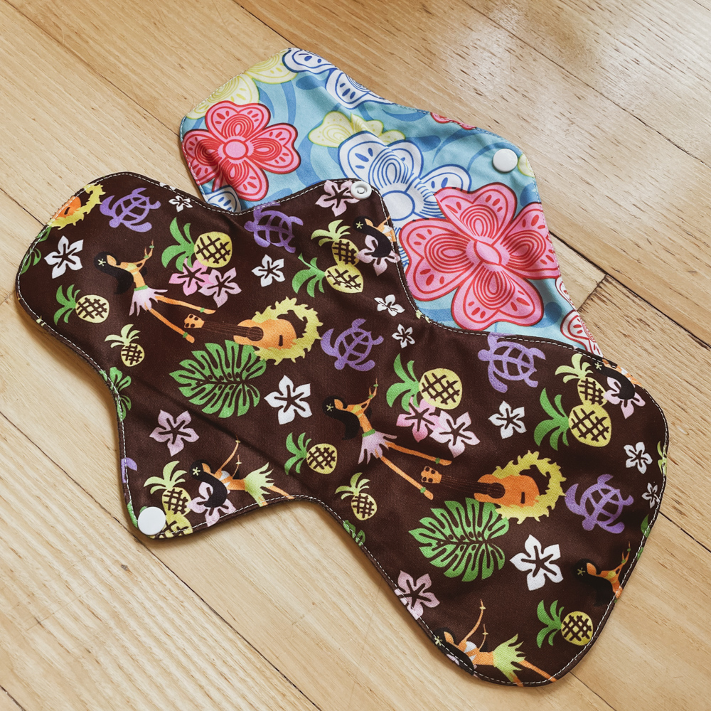 Eco-friendly reusable period pads