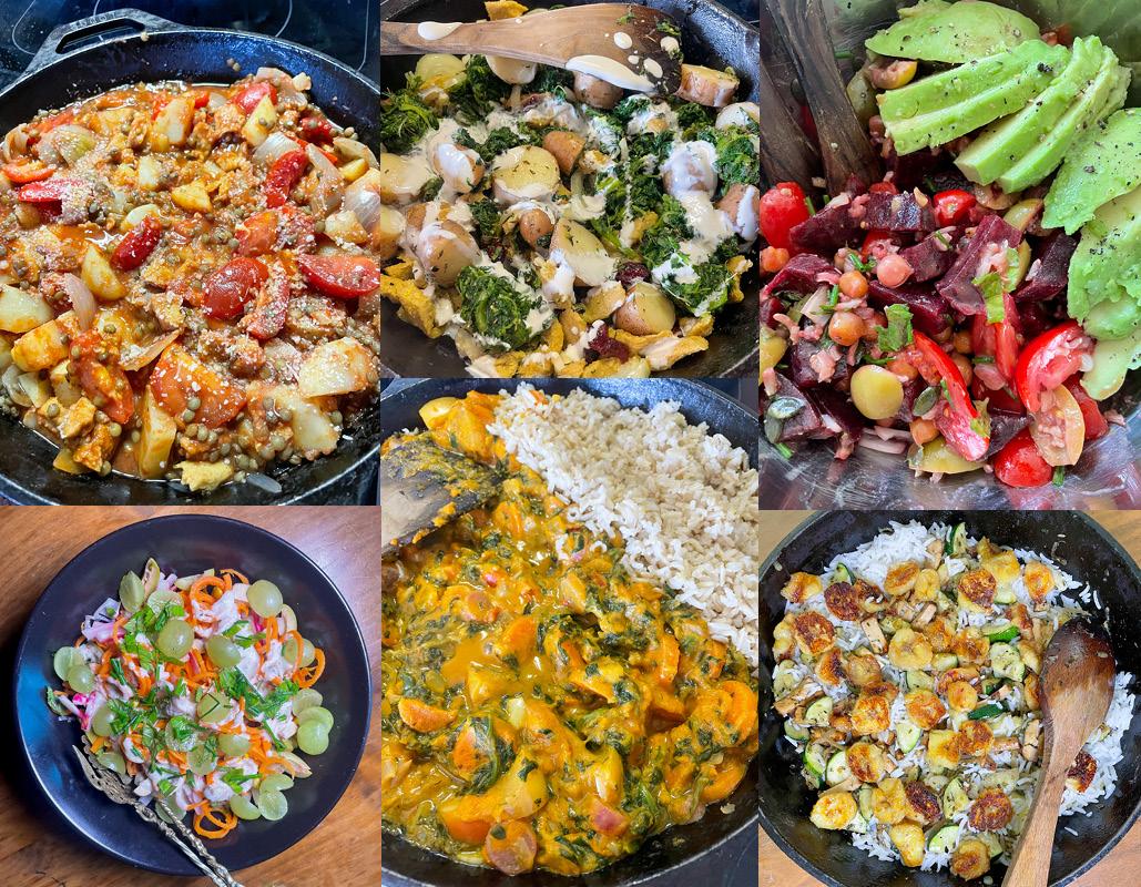 One week of Vegan food