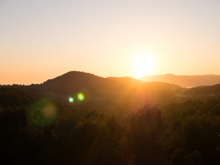 South of France - sunset