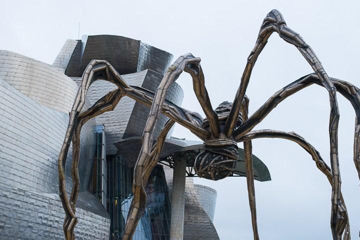 Maman-by-Louise-Bourgeois-the-Guggenheim-Museum-Bilbao-Spain