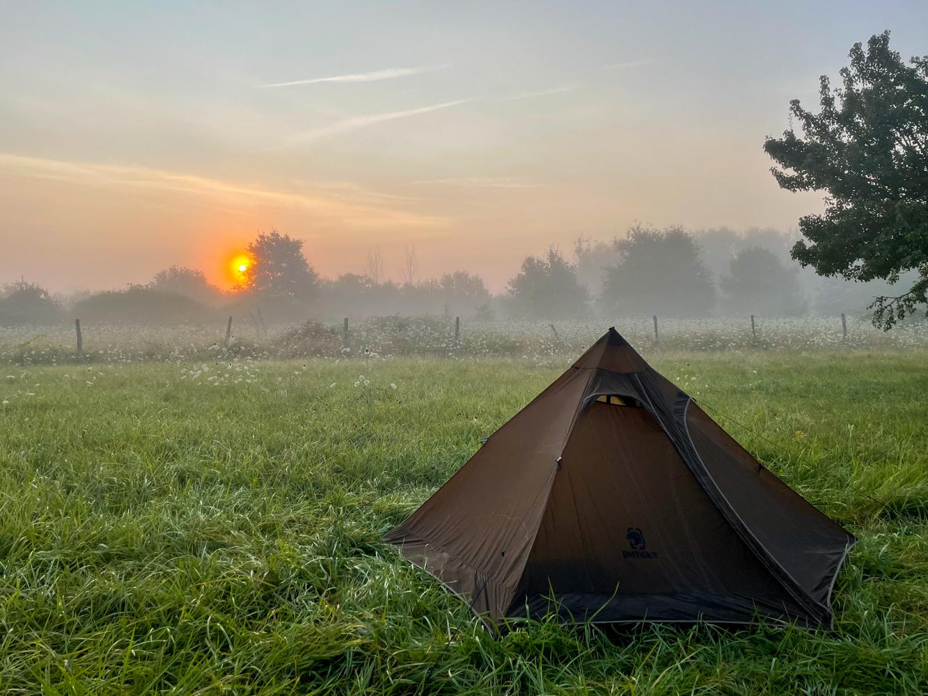 One Tigris Tipi tent - camping