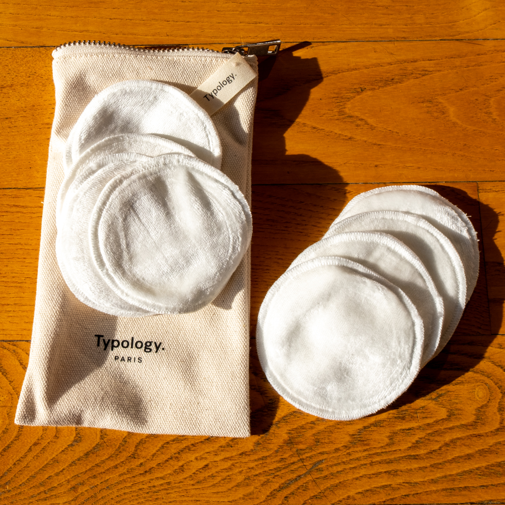 Typology make up removal pads