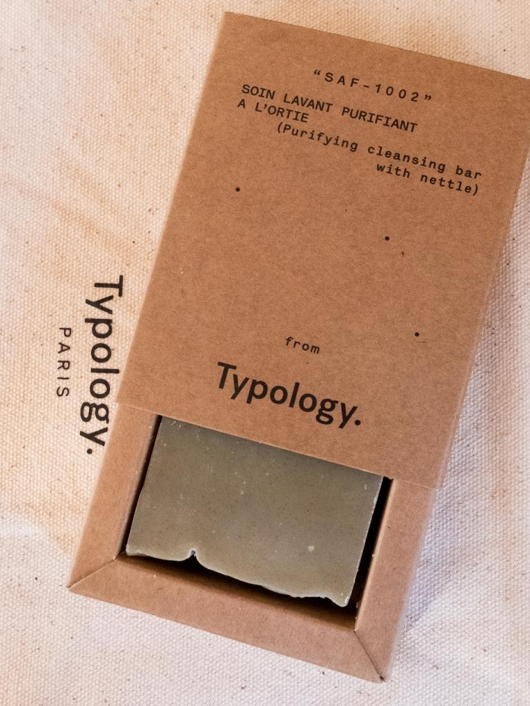 Typology soap