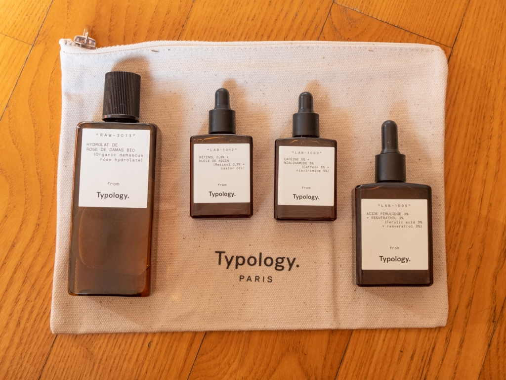 Typology travel pouch