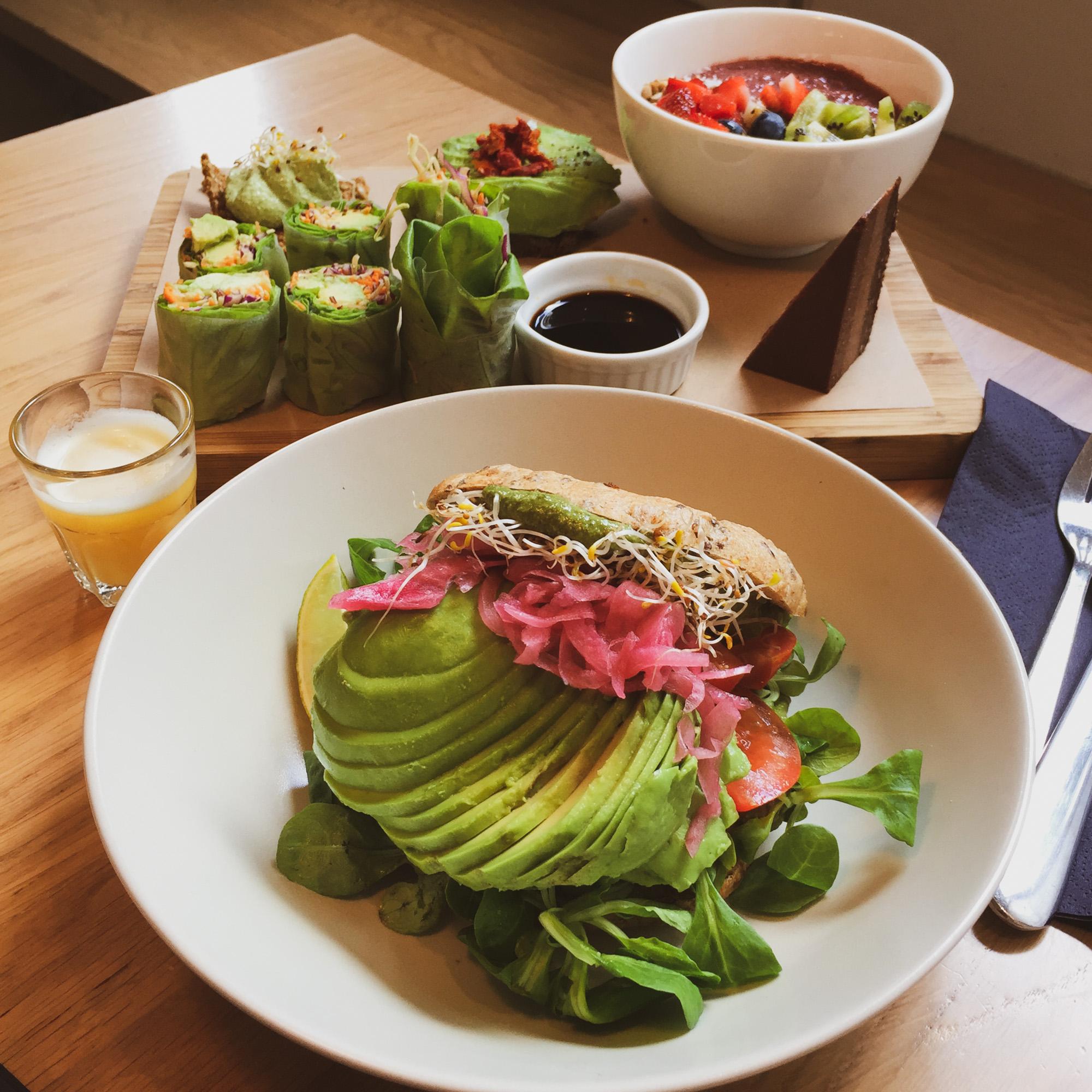 Healthy vegan processed food